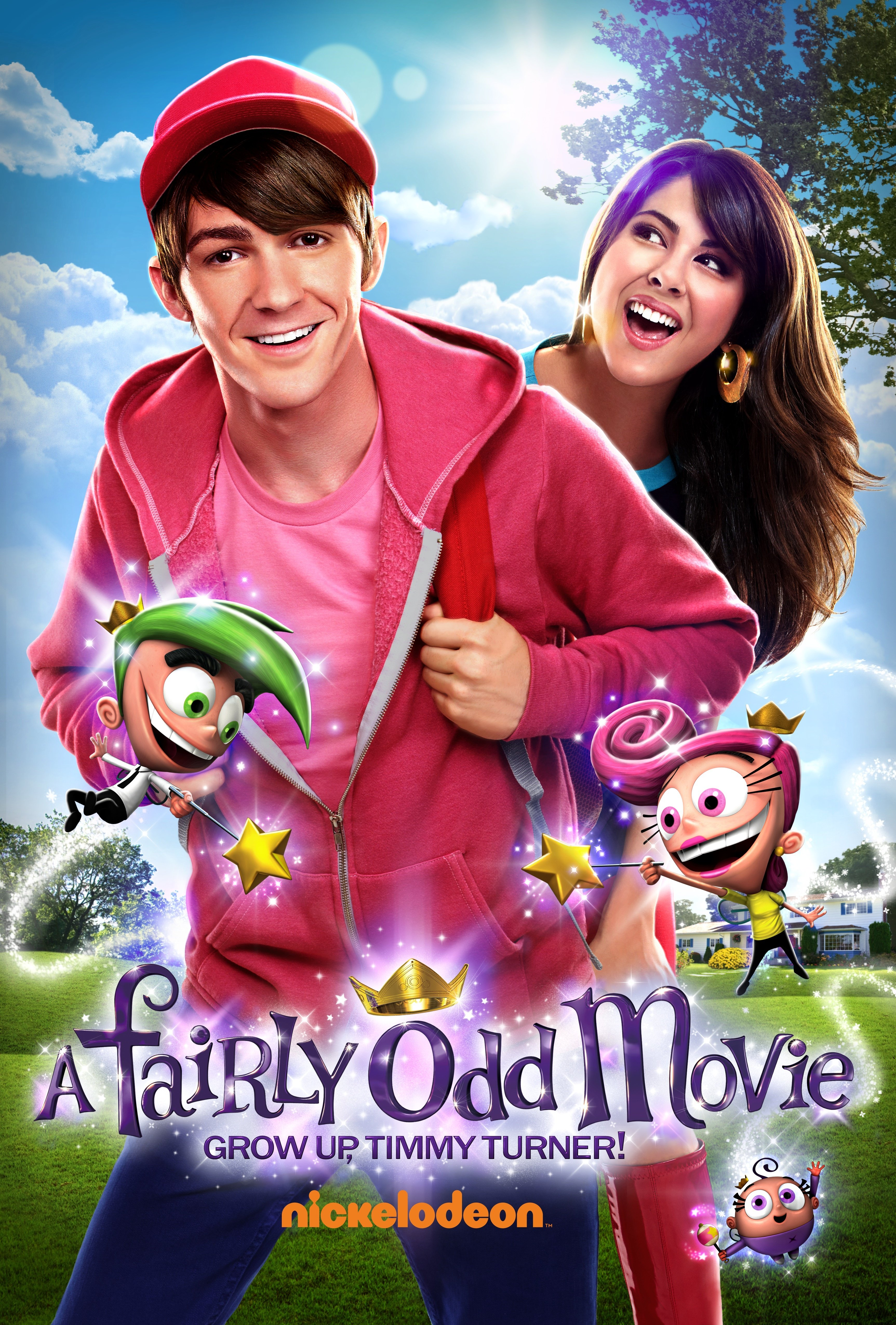 A Fairly Odd Movie: Grow Up, Timmy Turner! kapak