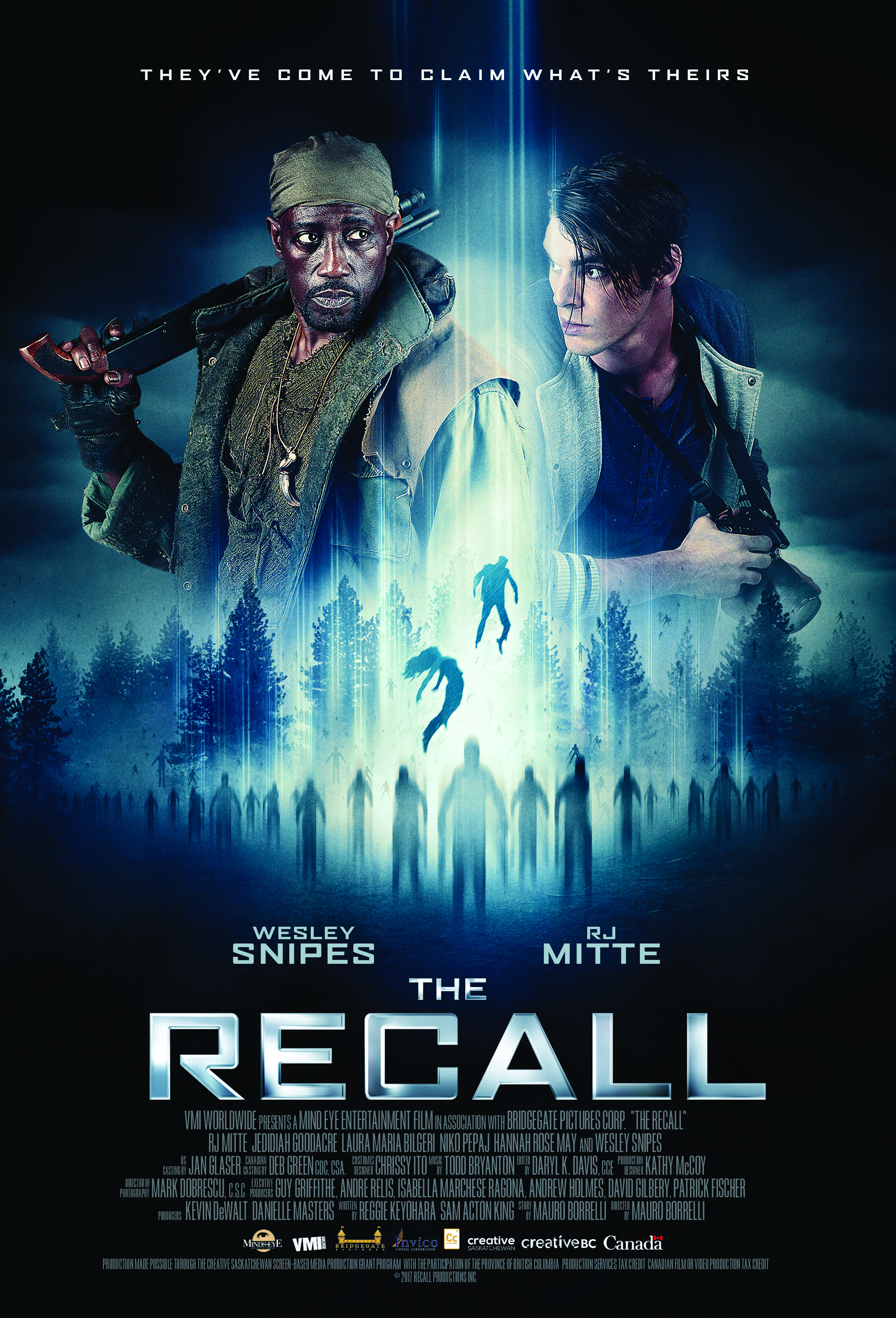The Recall kapak