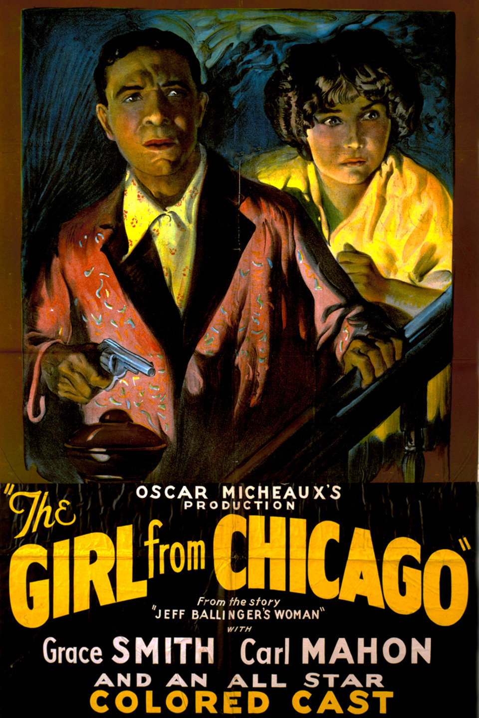 The Girl from Chicago kapak