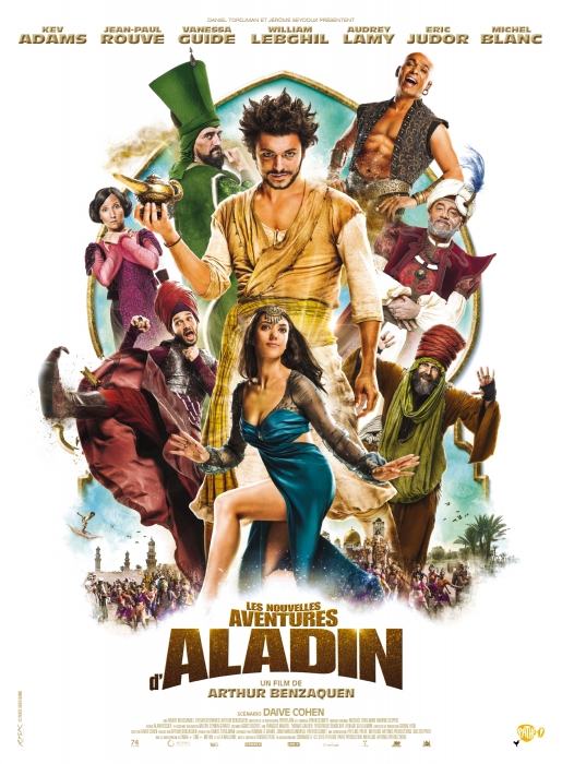 The New Adventures of Aladdin kapak