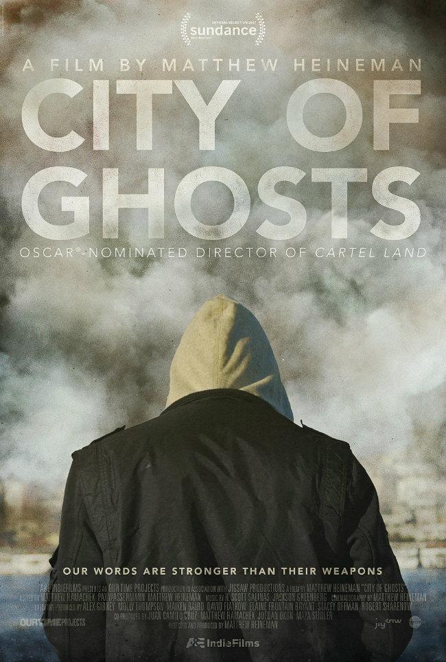 City of Ghosts kapak