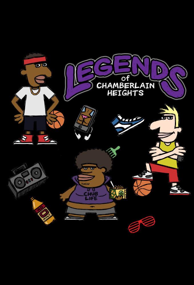 Legends of Chamberlain Heights kapak