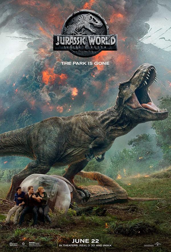 Jurassic World: Fallen Kingdom kapak