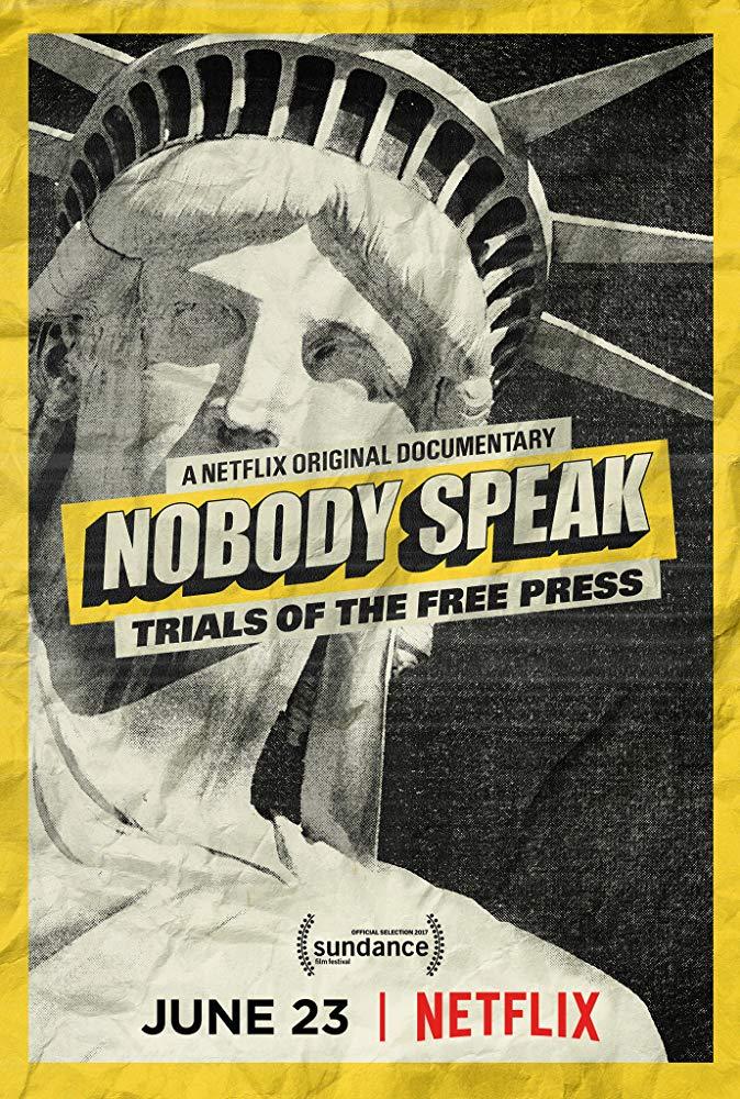 Nobody Speak: Trials of the Free Press kapak