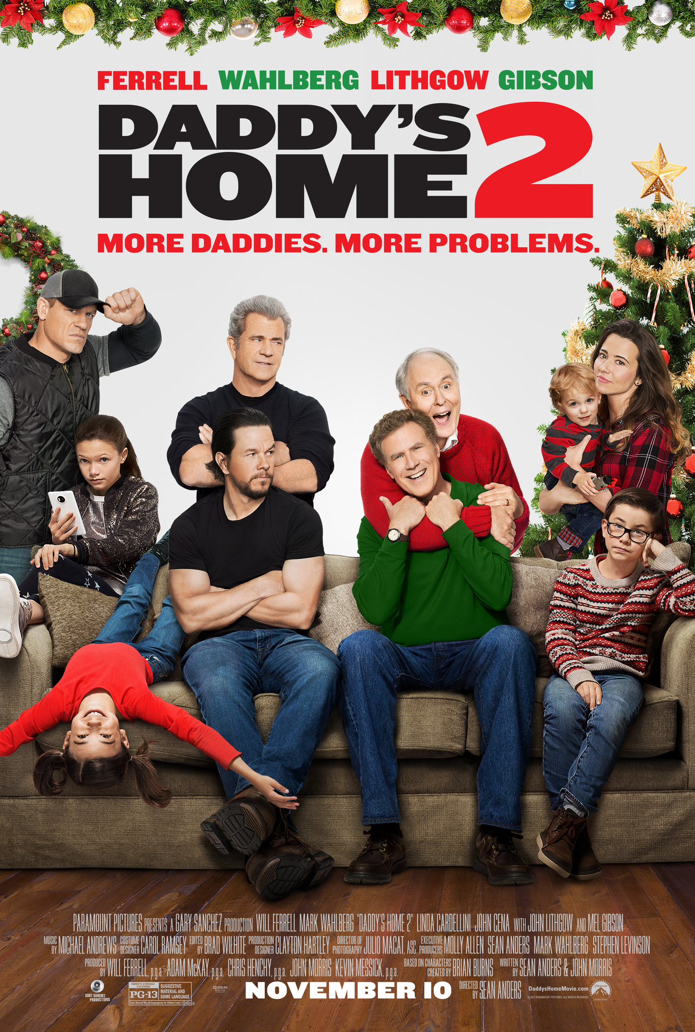 Daddy's Home 2 kapak