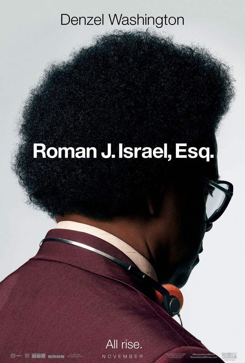 Roman J. Israel, Esq. kapak