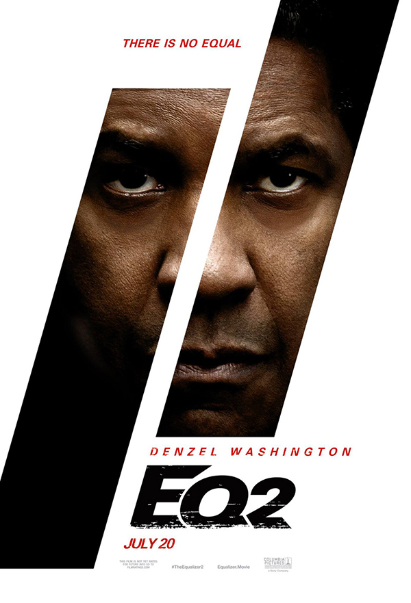 The Equalizer 2 kapak