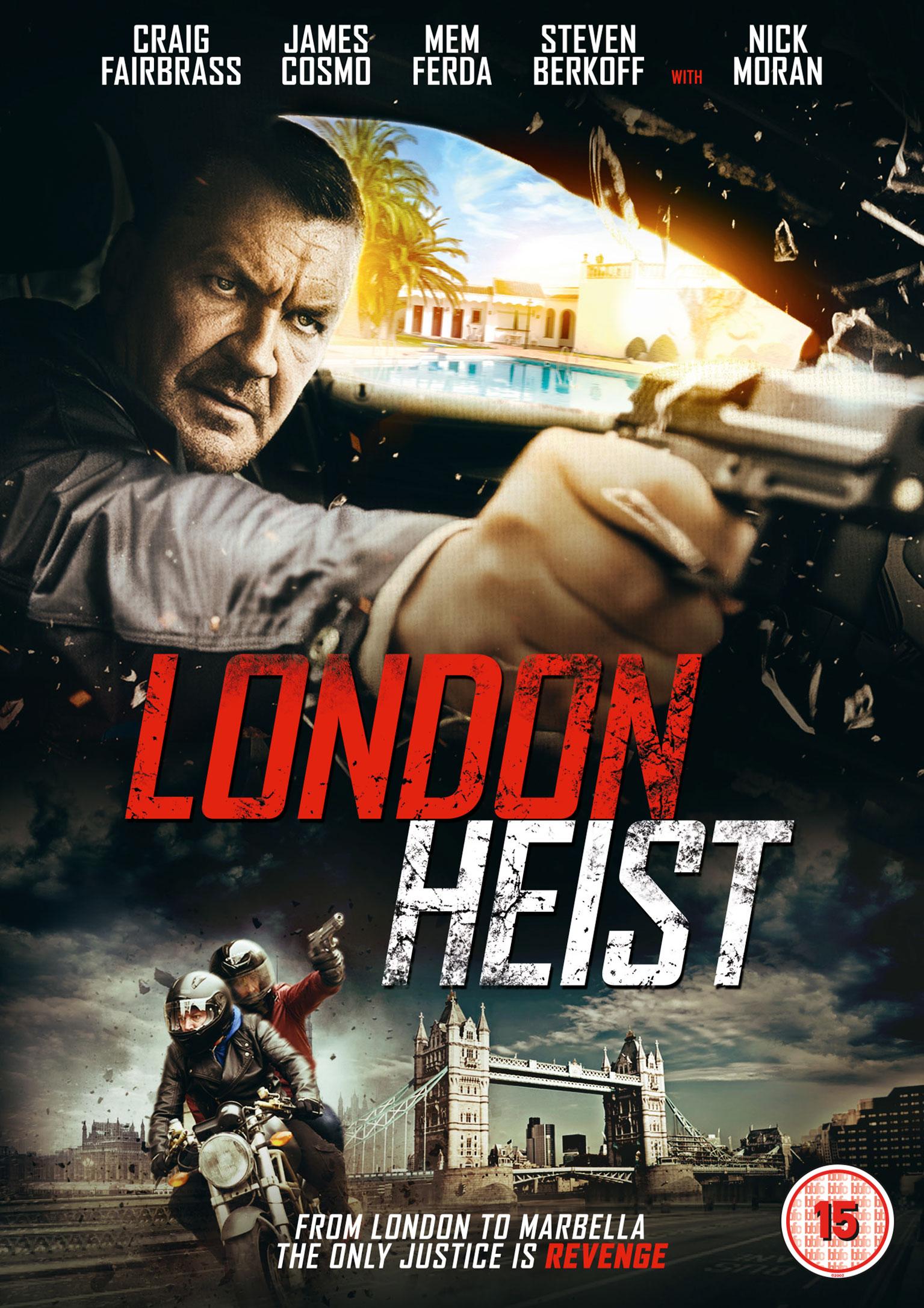London Heist kapak