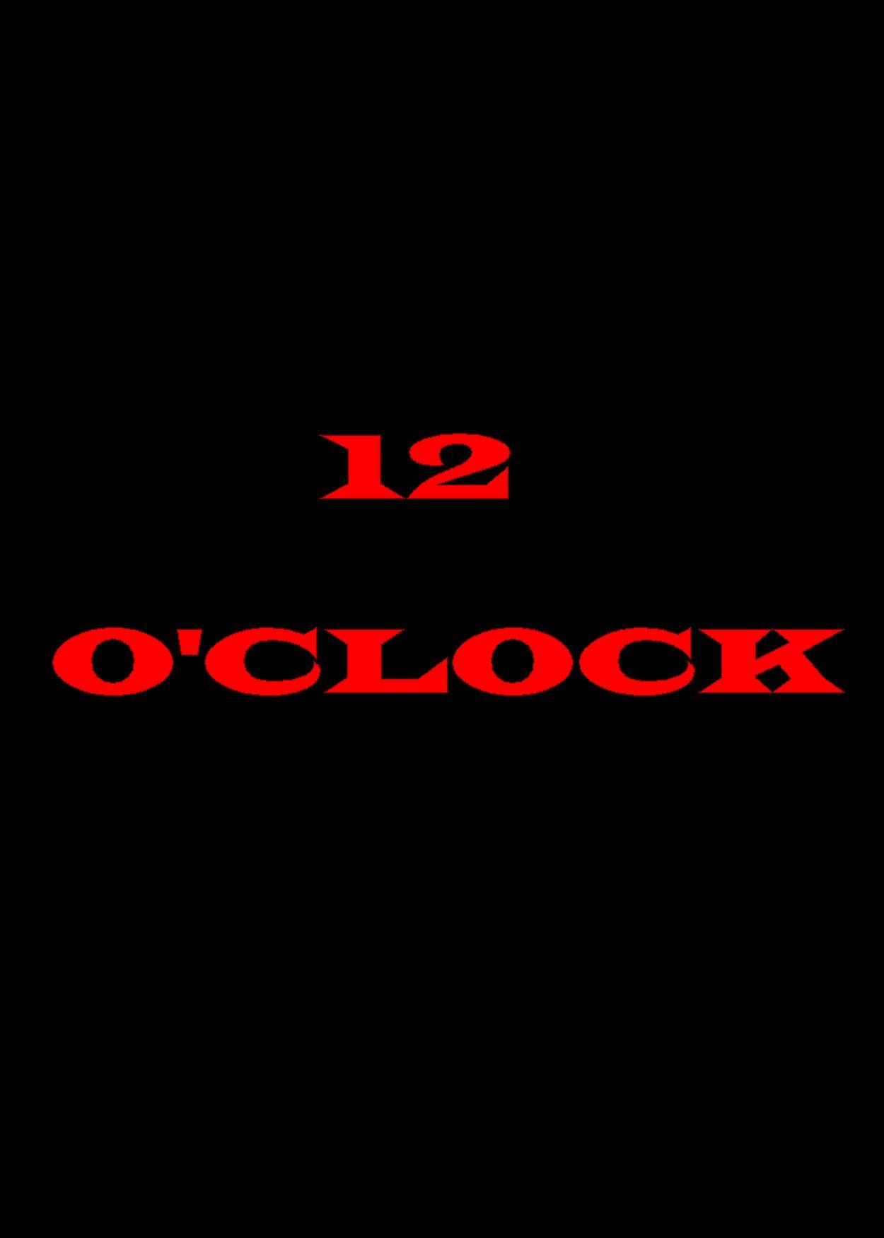 12 O'Clock kapak