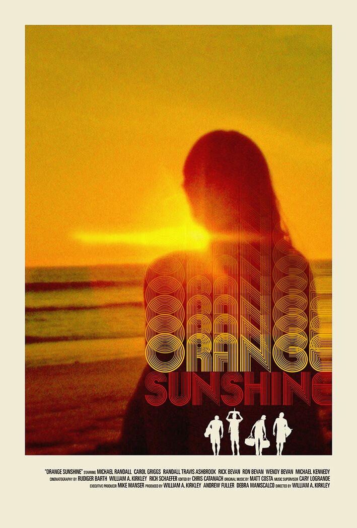 Orange Sunshine kapak