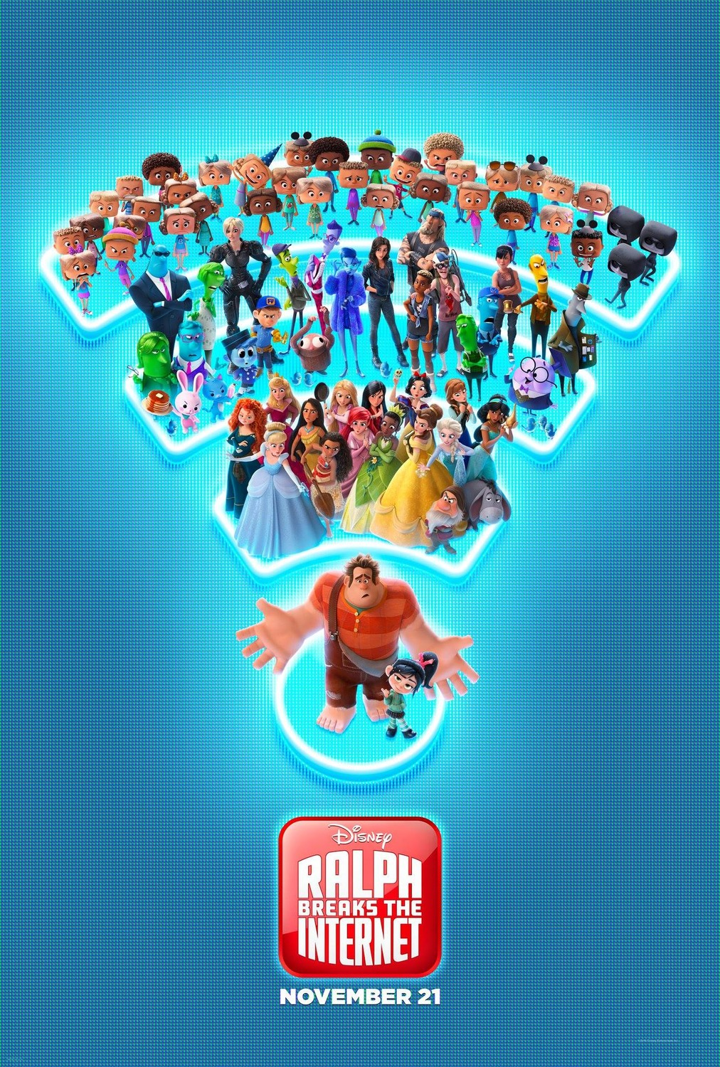 Ralph Breaks the Internet kapak