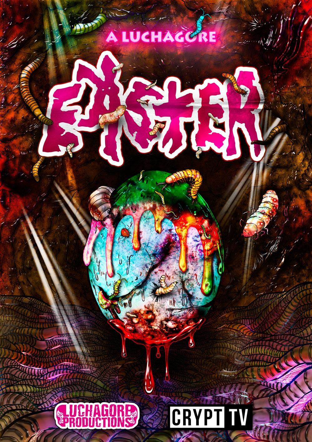 A Luchagore Easter kapak
