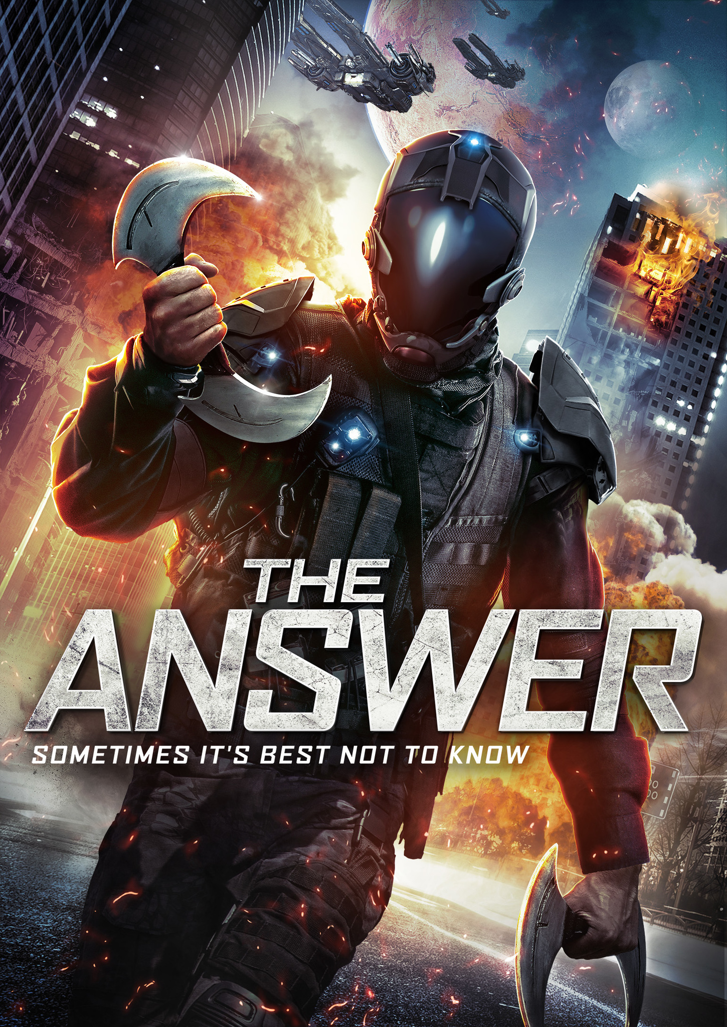 The Answer kapak