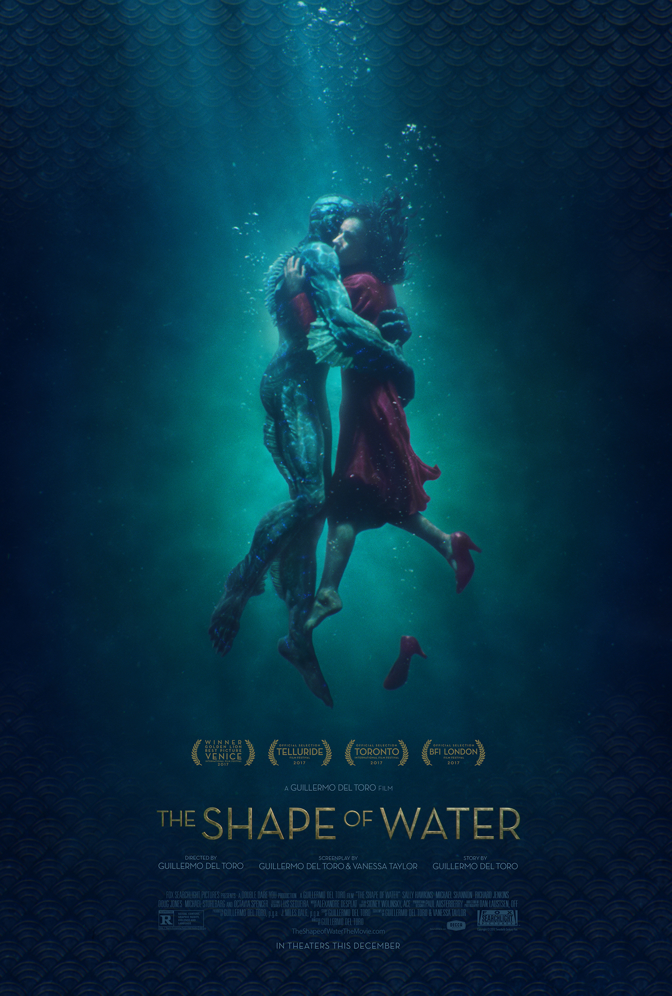 The Shape of Water kapak