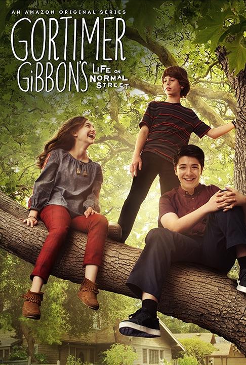 Gortimer Gibbon's Life on Normal Street kapak