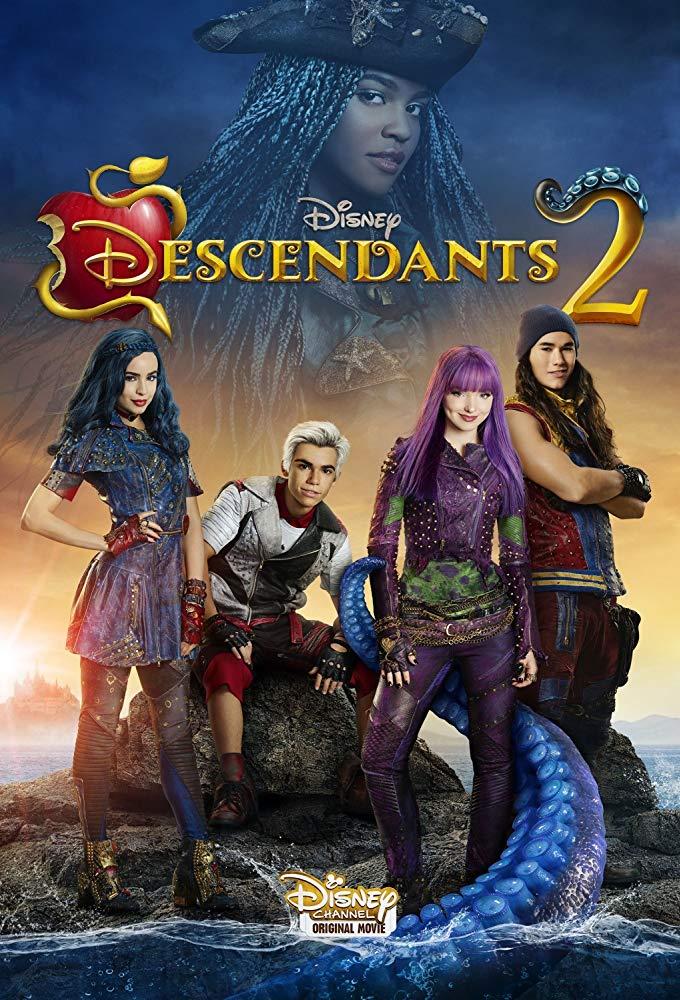 Descendants 2 kapak