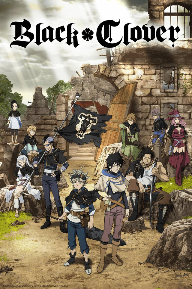 Black Clover (TV) kapak