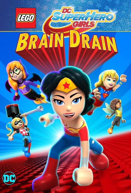Lego DC Super Hero Girls: Brain Drain kapak
