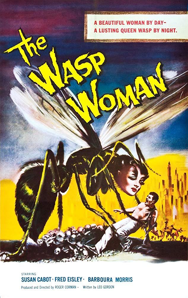 The Wasp Woman kapak