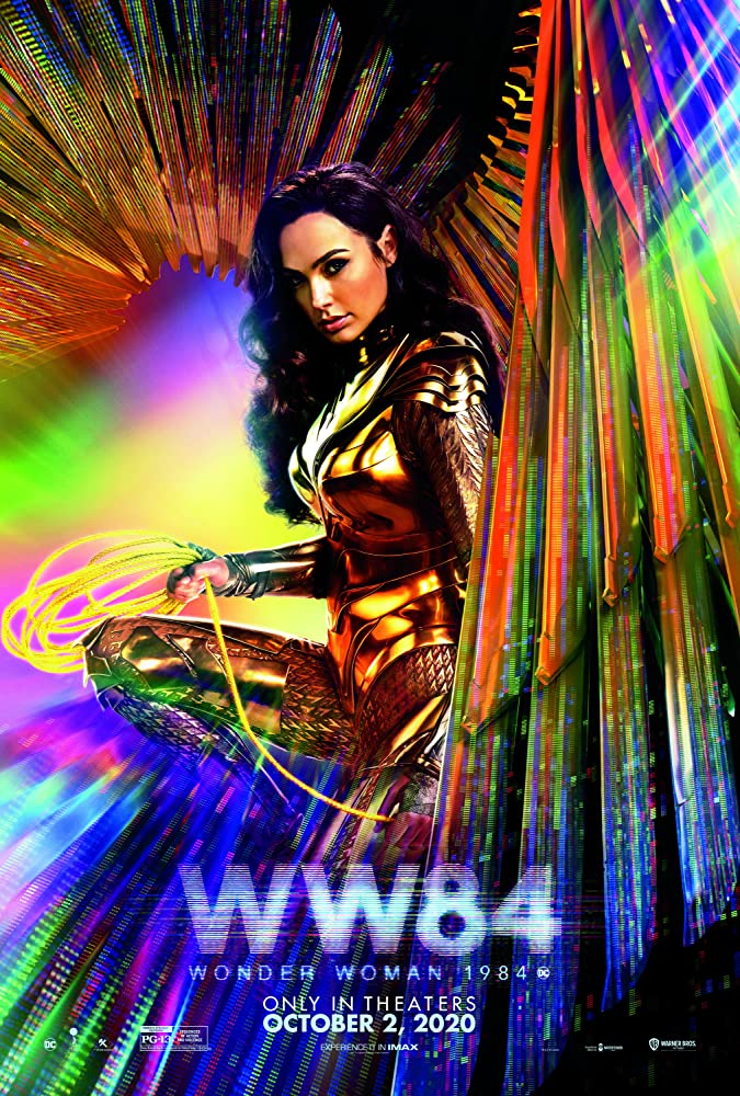 Wonder Woman 1984 kapak