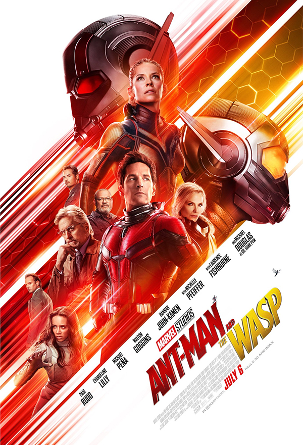 Ant-Man and the Wasp kapak