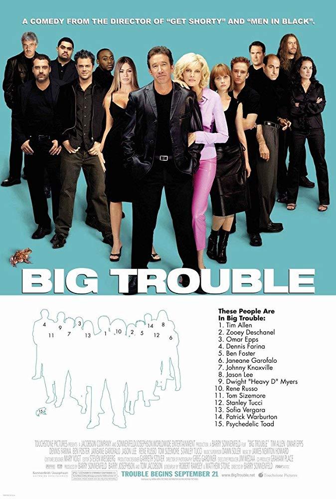 Big Trouble kapak