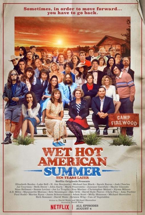 Wet Hot American Summer: Ten Years Later kapak