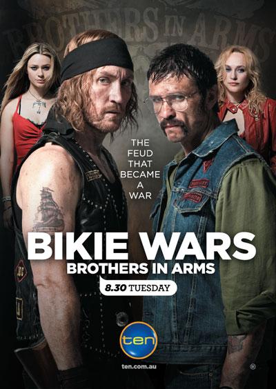 Bikie Wars: Brothers in Arms kapak