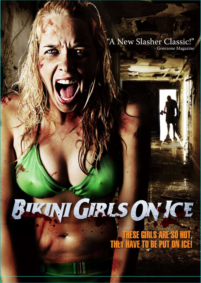Bikini Girls on Ice kapak
