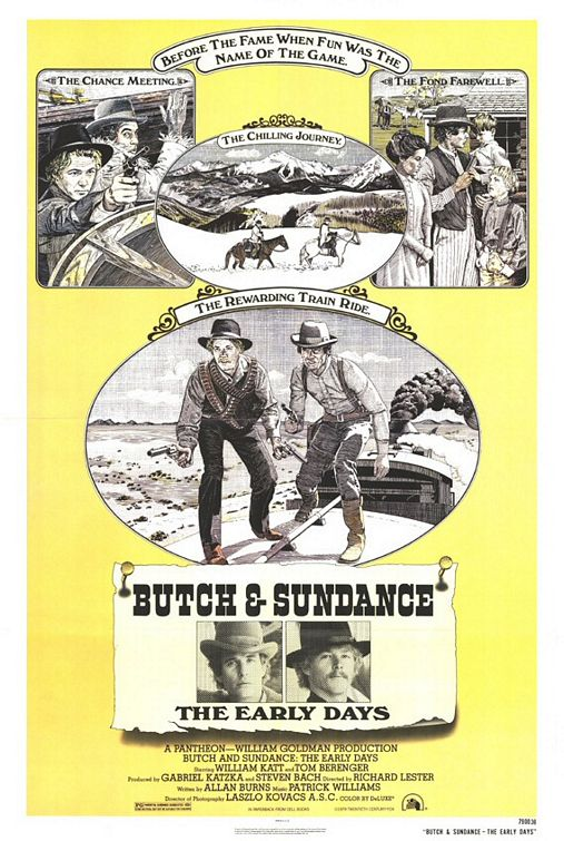 Butch and Sundance: The Early Days kapak