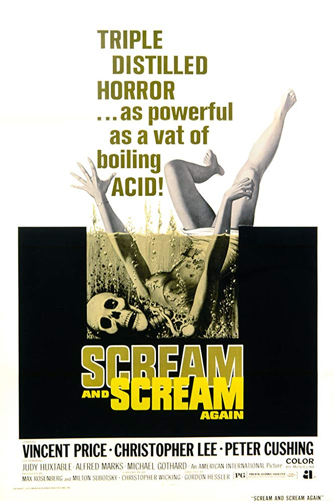Scream and Scream Again kapak