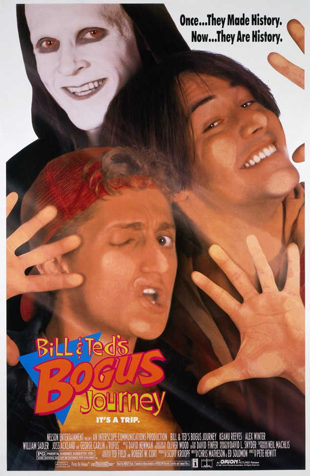 Bill & Ted's Bogus Journey kapak