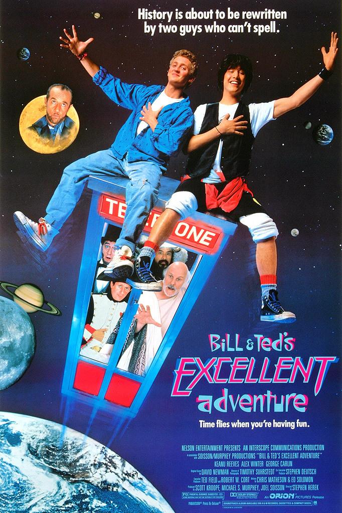 Bill & Ted's Excellent Adventure kapak