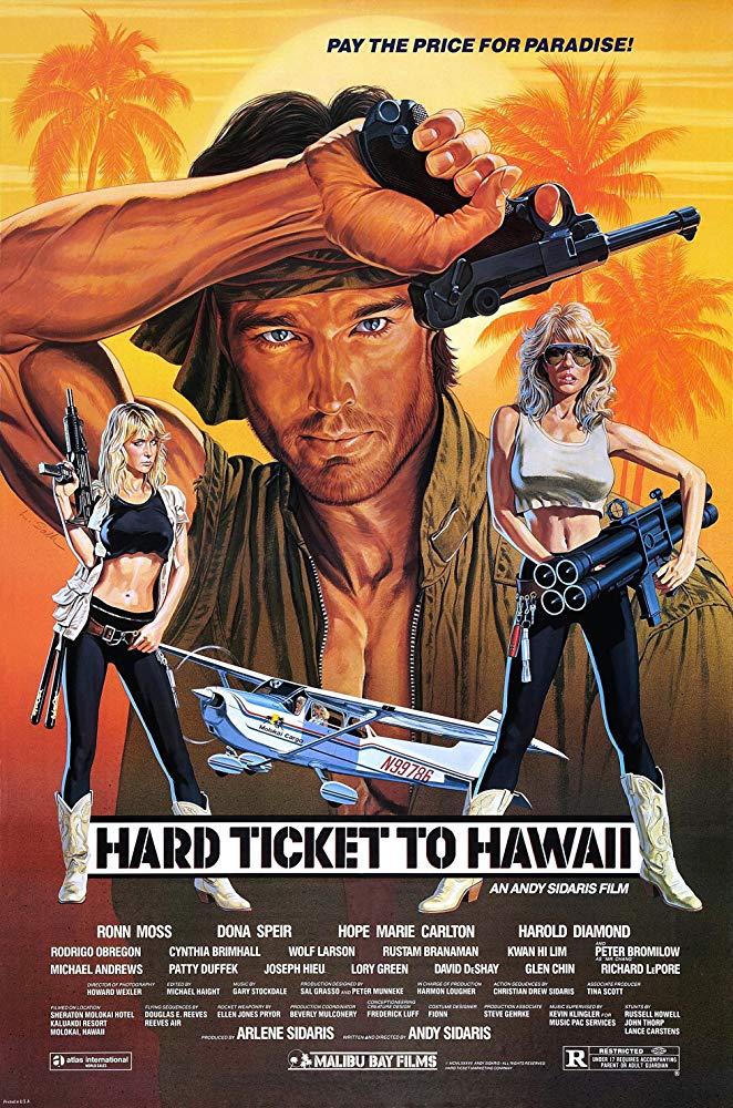 Hard Ticket to Hawaii kapak