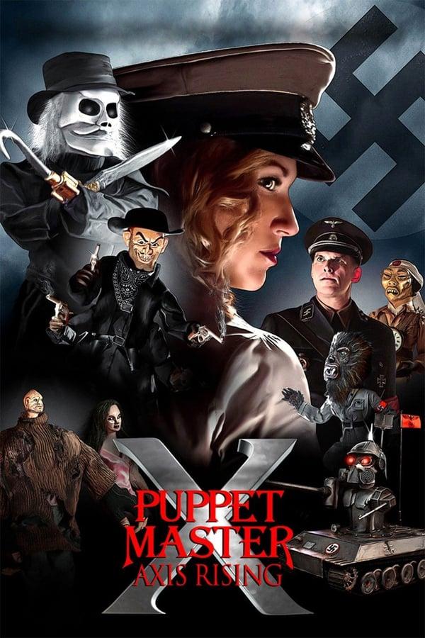 Puppet Master X: Axis Rising kapak