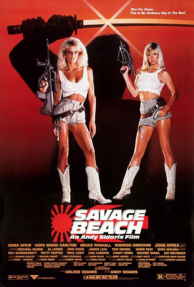 Savage Beach kapak