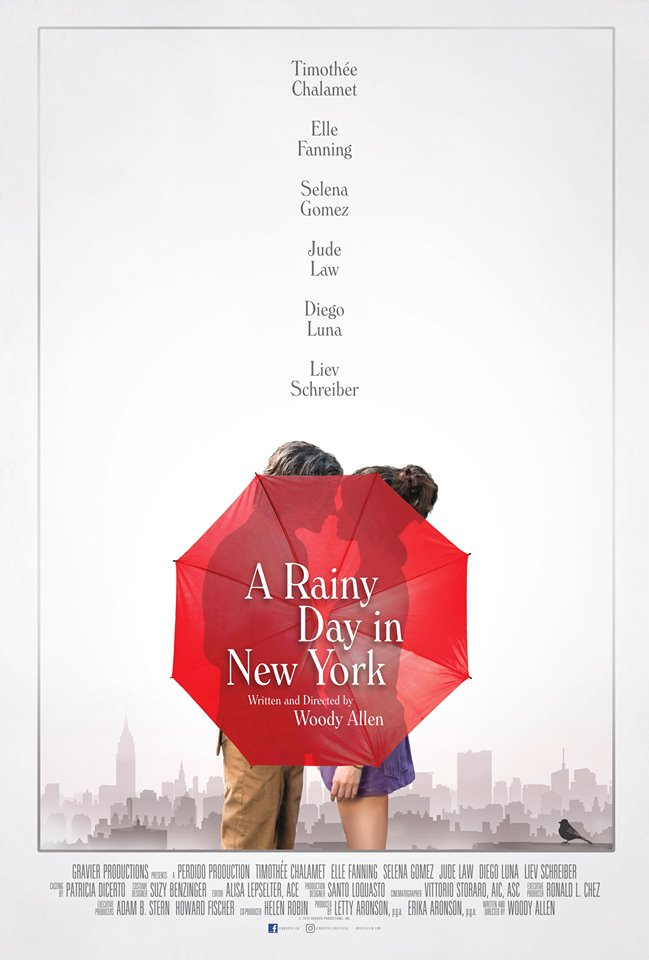 A Rainy Day in New York kapak