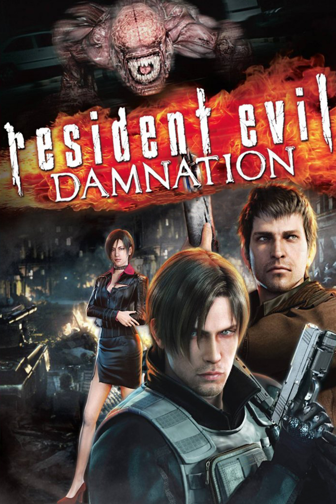 Resident Evil: Damnation kapak