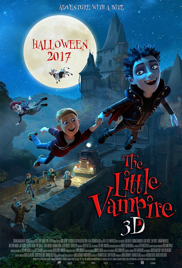 The Little Vampire 3D kapak