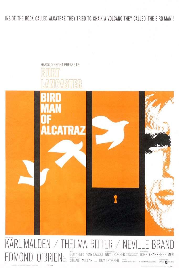 Birdman of Alcatraz kapak