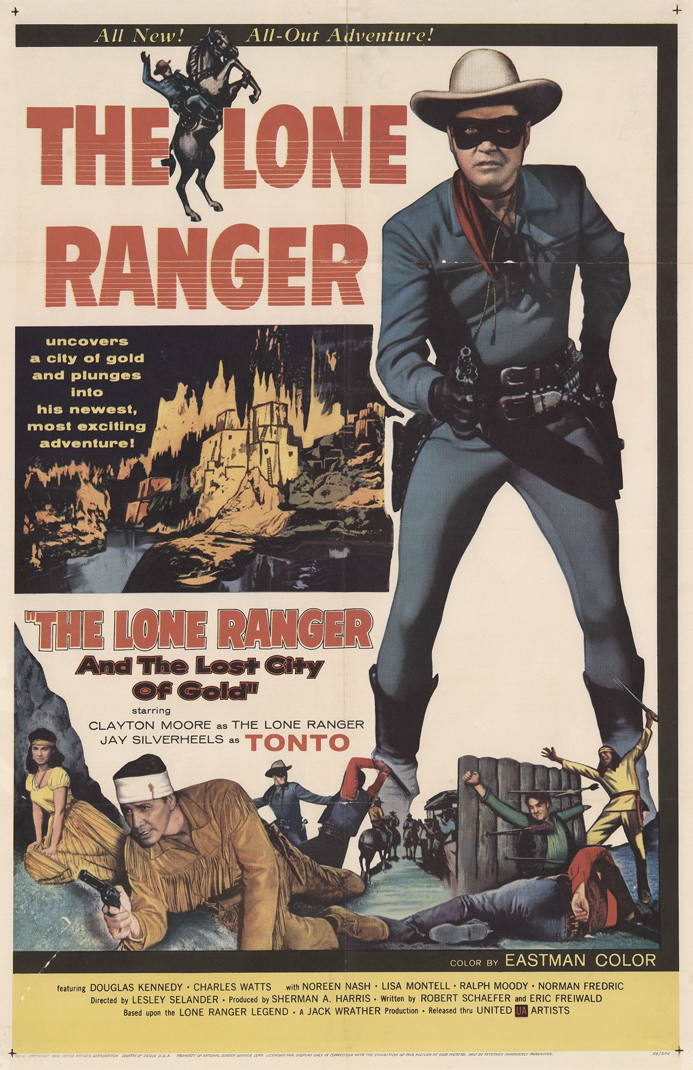 The Lone Ranger and the Lost City of Gold kapak