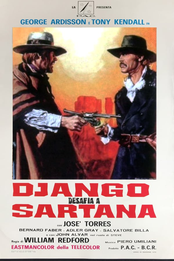 Django Defies Sartana kapak