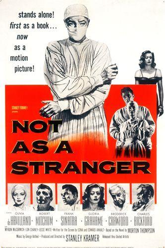 Not as a Stranger kapak