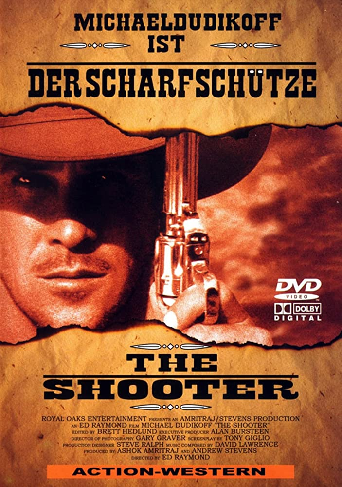 The Shooter kapak