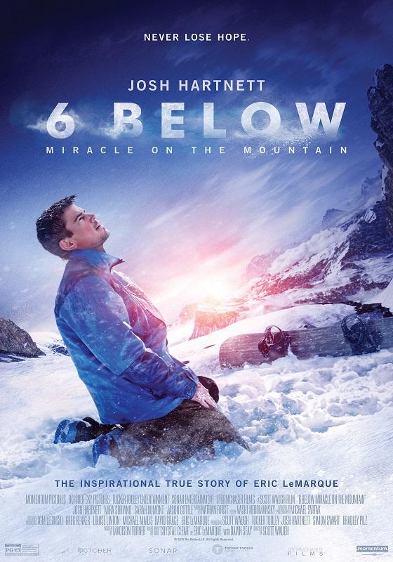 6 Below: Miracle on the Mountain kapak