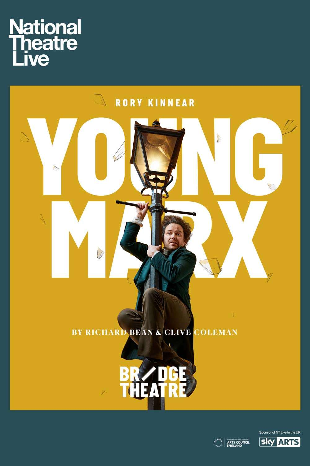 National Theatre Live: Young Marx kapak