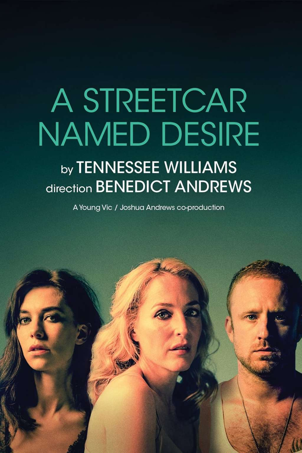 National Theatre Live: A Streetcar Named Desire kapak