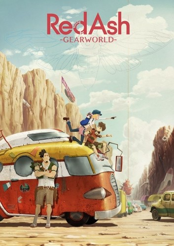 Red Ash: Gearworld kapak