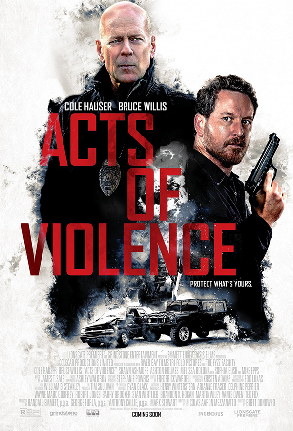 Acts of Violence kapak
