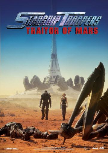 Starship Troopers: Traitor of Mars kapak